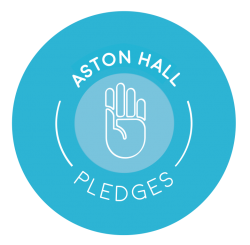 Aston Hall Pledge Logo (Medium)